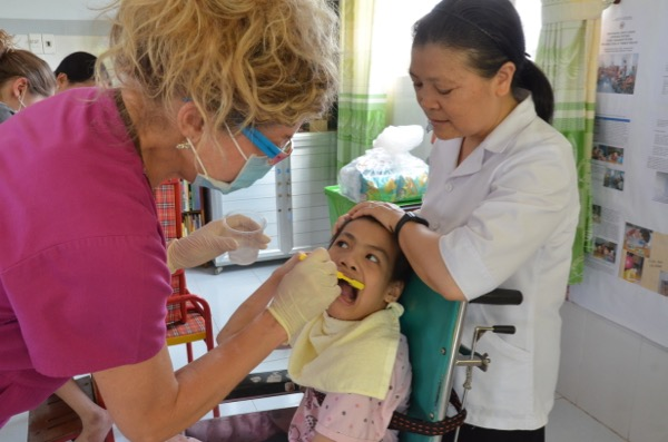 Oral Health care at the Thien Phuoc (Agent Orange) Orphanage in Ho Chi Minh City, Vietnam